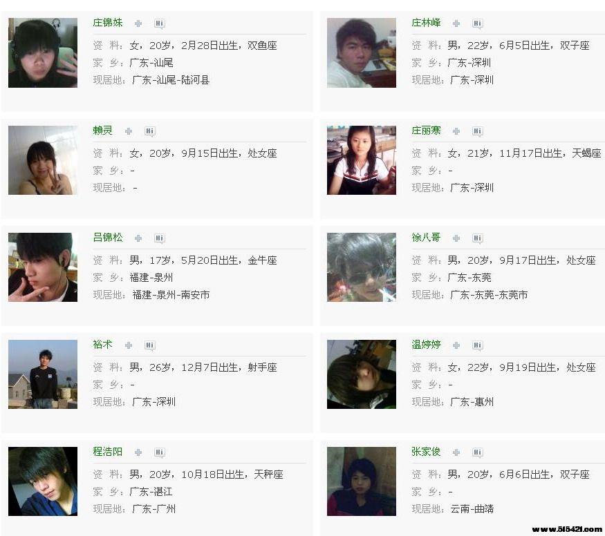 QQ校友 - 揭西县上砂第一中学 - 校友列表6.jpg