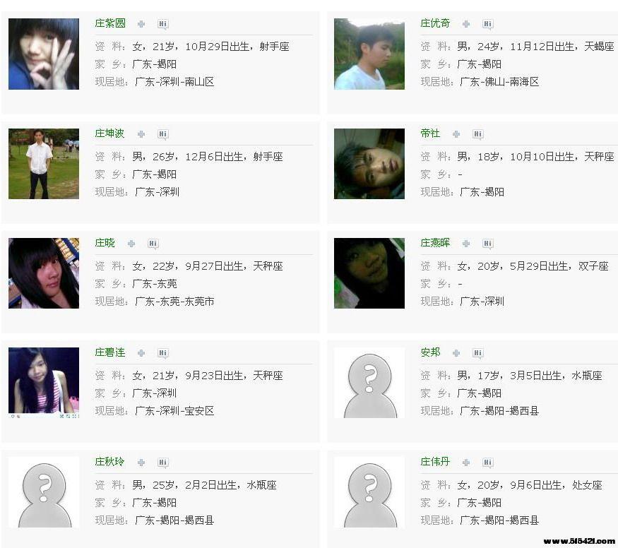 QQ校友 - 揭西县上砂第一中学 - 校友列表12.jpg