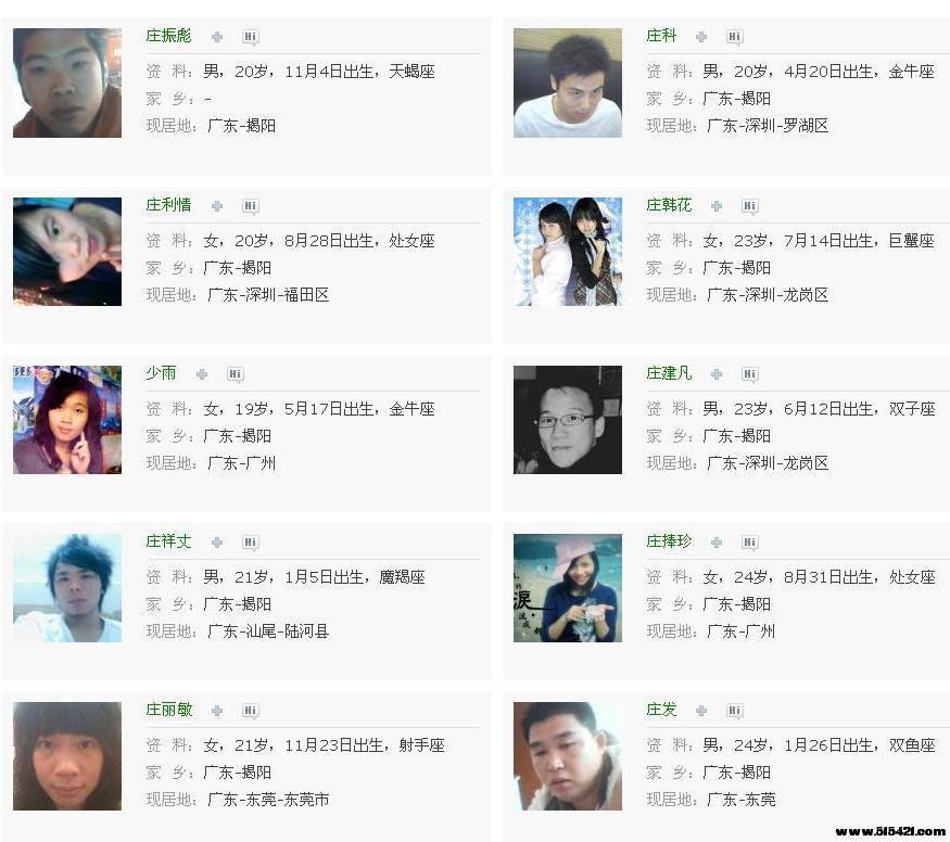 QQ校友 - 揭西县上砂第一中学 - 校友列表11.jpg