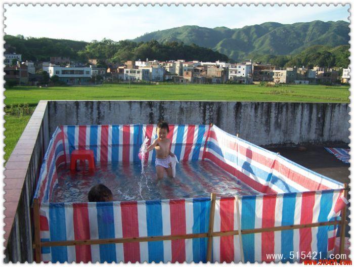 自制儿童游泳池 - 上砂个人作品展